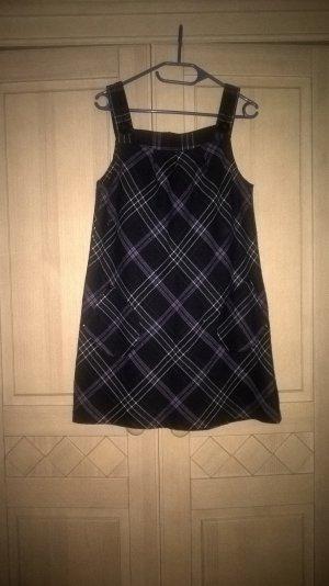 warmes A-Form Kleid , kariert
