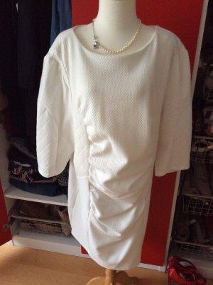 Warmes Kleid von Carmakoma in Weiß in 52