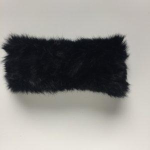 Warmes Stirnband aus Kaninchenfell