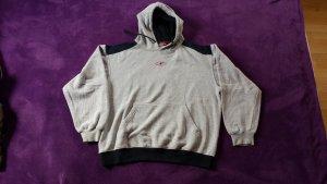 Crane Top à capuche gris clair-noir