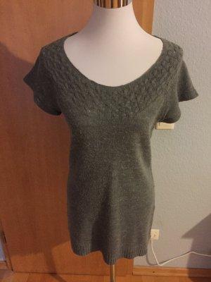 Lang shirt grijs