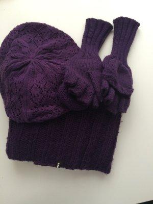 *** warmes Winterset mit Rundschal, Handschuhe und Mütze von Barts ***