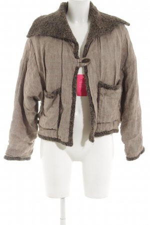 Waschbär Wool Jacket natural white-brown flecked casual look