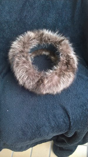 Earmuff dark brown fur