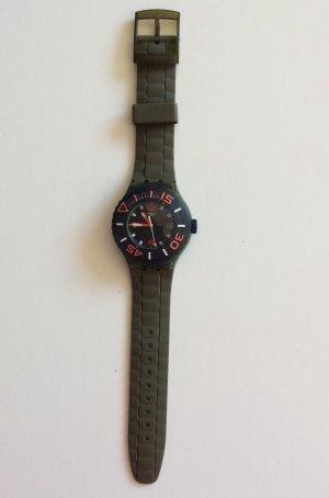 Wasserdicht Chrono Swatch Uhr in Super Zustand, voll funktioniert mit neue Batterie.