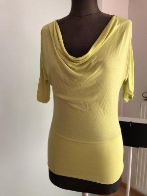 Wasserfall Bluse Tunika Shirt Gr 36 38 S von Chillytime , gelb
