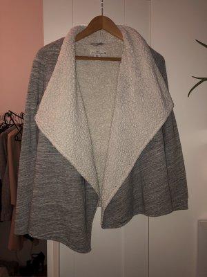 Wool Jacket light grey-natural white