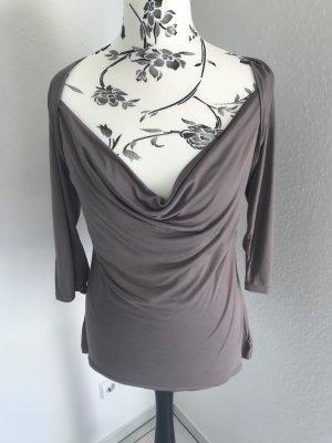 H&M Waterval shirt grijs-bruin