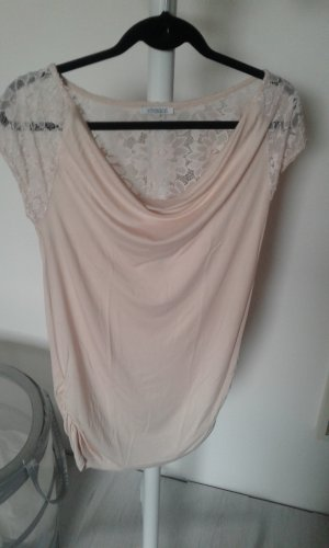 Vivance Cowl-Neck Shirt pink