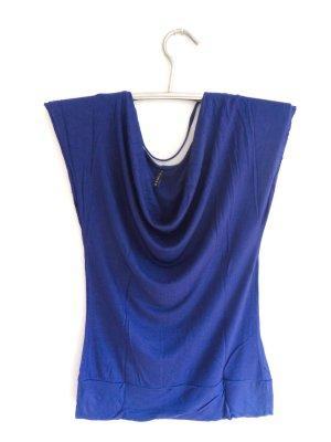 Wasserfall T-Shirt marineblau