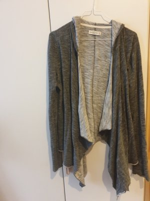 Abercrombie & Fitch Hooded Vest dark grey