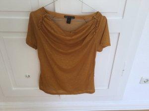 Wasserfallkragen T-Shirt von Mango