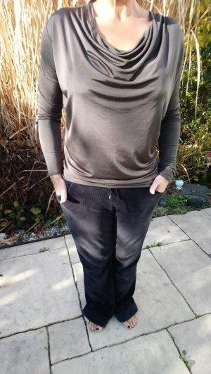 René Lezard Waterval shirt donkerbruin