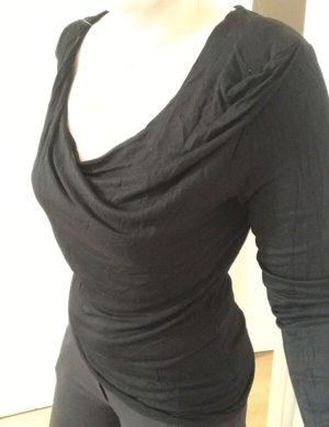 Orsay Maglia con scollo a cappuccio nero