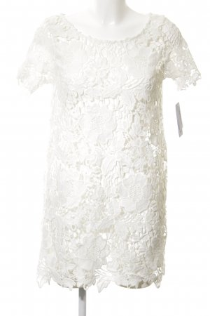 Watercult Etuikleid weiß florales Muster Elegant