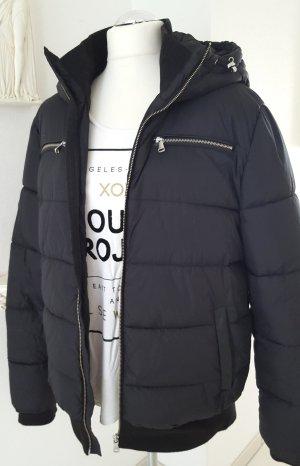 Wattierte Jacke mit Kapuze Gr. L / XL