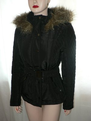 Wattierte Jacke schwarz NEU