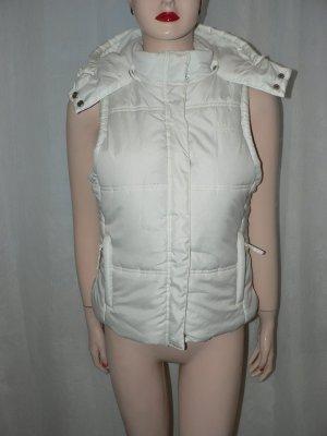 Edc Esprit Gilet matelassé blanc polyester