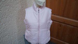 Gewatteerd vest lichtroze Polyester