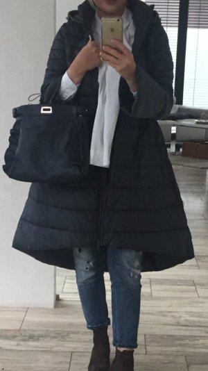Manteau à capuche gris anthracite-gris foncé