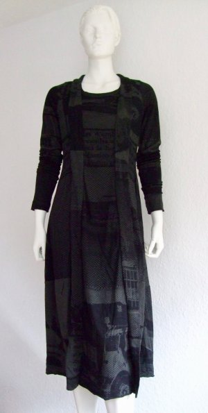 Wattiertes Kleid von RUNDHOLZ BLACK LABEL in anthra print M
