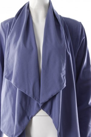 Wave Sweatcardigan blau