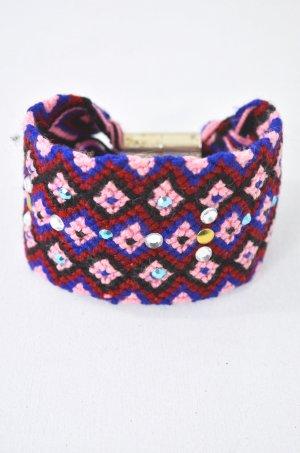 WAYUU Armband Hippie-Armband Geknüpft Handmade Blau Rosé Schwarz Rot 0Size