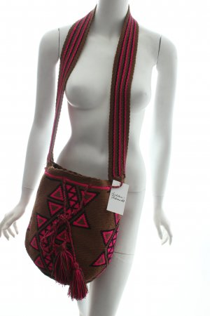 Wayuu taya Beuteltasche Ethnomuster Hippie-Look