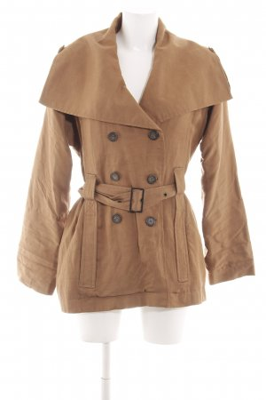 WE Pea Jacket brown business style