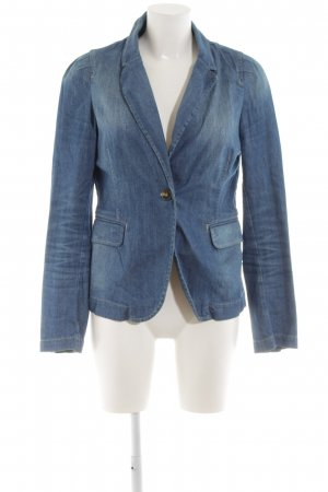 WE Fashion Denim Blazer blue casual look