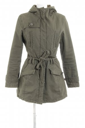 WE Fashion Hooded Coat khaki casual look