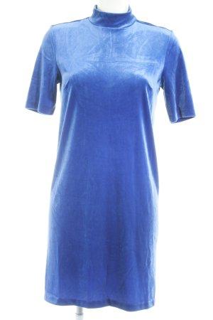 WE Fashion Kurzarmkleid blau