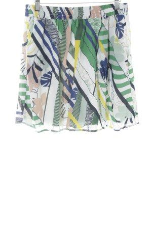WE Fashion Minirock abstraktes Muster Casual-Look
