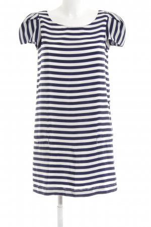 WE Fashion Shirtkleid dunkelblau-weiß Streifenmuster Casual-Look