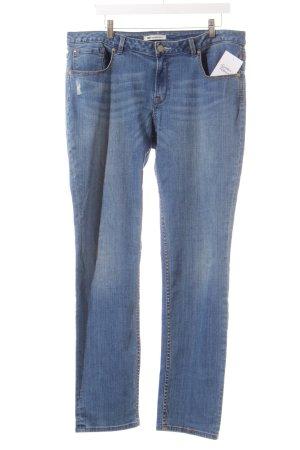 WE Fashion Straight-Leg Jeans hellblau Casual-Look