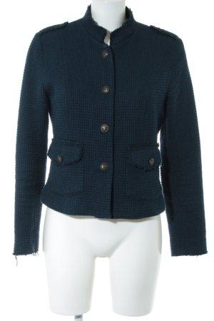 WE Fashion Tweed Blazer blue business style