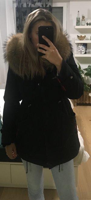 We Love Furs Pelt Coat black
