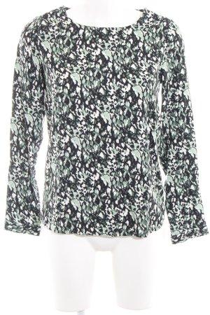 WE Schlupf-Bluse abstraktes Muster klassischer Stil