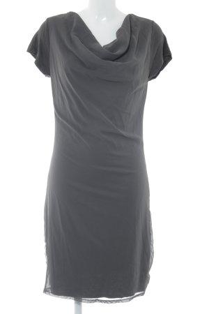 WE Robe t-shirt gris foncé style décontracté