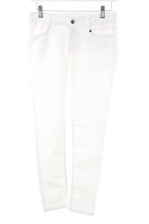 WE Skinny Jeans wollweiß Casual-Look