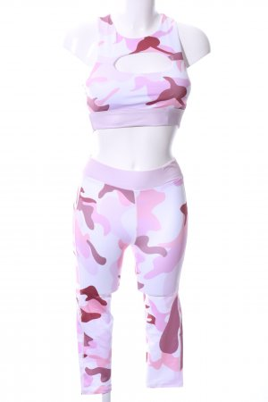 Woven Twin Set camouflage pattern athletic style