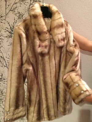 Alfredo Pauly Fake Fur Jacket multicolored