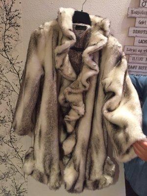 Alfredo Pauly Fake Fur Coat multicolored