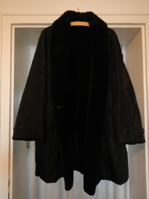 Allegri Fake Fur Coat black mixture fibre