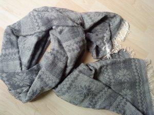 Webschaltuch grau gemustert