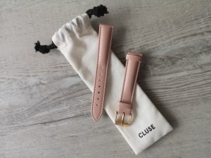 Cluse Watch With Leather Strap rose-gold-coloured-dusky pink