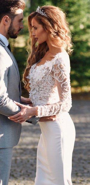 Weddingdress Hochzeitskleid UNIKAT HANDMADE Bride Braut high fashion quality