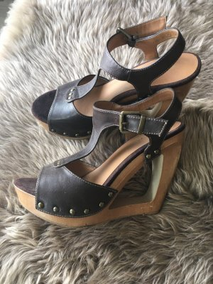 Graceland Wedge Sandals multicolored imitation leather