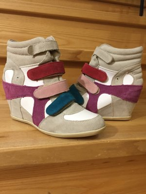 Wedge Sneaker light grey-cadet blue