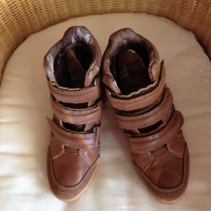 """Wedge Sneaker Boots """"Replay""""  Contrast Sneaker-Boots, Gr. 37 Chestnut"""